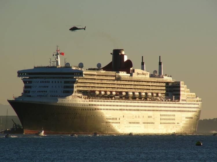 Besuchstermine der Queen Mary 2 in 2019